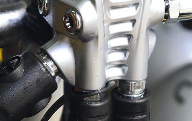 72X with down-facing regulator hoses.