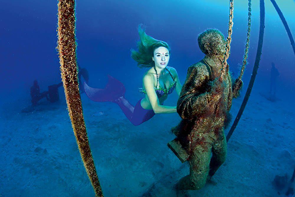 Mermaid At The Museum