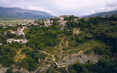 The Gjirokaster Valley.