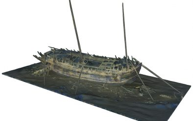 3D model of the Bodekull, or Dalarö Wreck, courtesy of the Swedish National Maritime & Transport Museums.