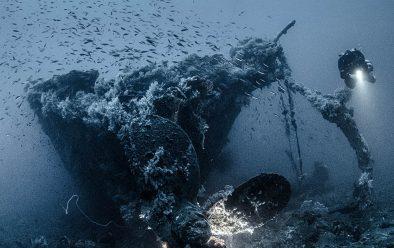 The Mogami Maru.
