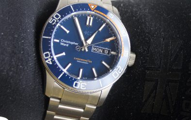 The C60 Elite sits nicely on a wet-glove wrist or the wrist-seal of a wetsuit.